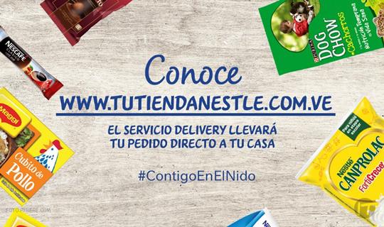 La empresa de alimentos Nestlé desarrolló un portal de compras online y delivery