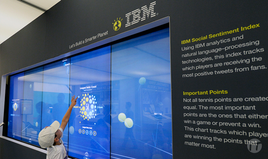 IBM crea nuevas experiencias con IA y Nube Híbrida para el US Open