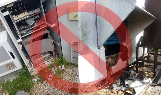 Robos y vandalismo en estaciones de @MovistarVe se duplicaron en el inicio del año