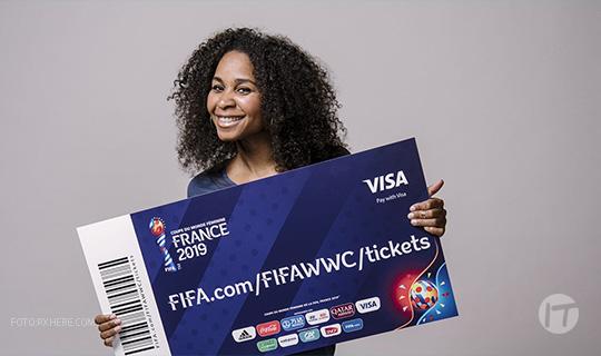 Pagos sin contacto, un Éxito para Visa y los Fanáticos en la Copa Mundial Femenina de la FIFA Francia 2019™