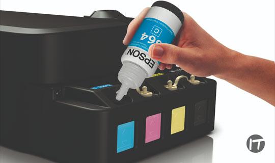 Epson EcofitTM, la tecnología inteligente de llenado de tinta para impresoras