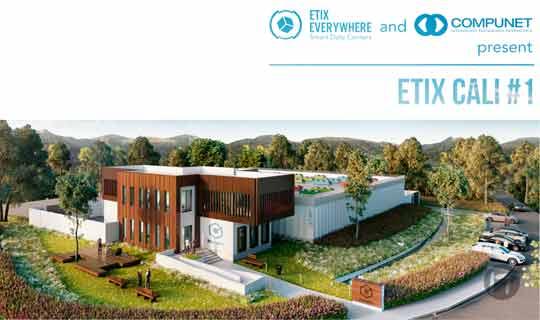 Etix Everywhere y Compunet se unen para construir un Centro de Datos de última generación en Colombia