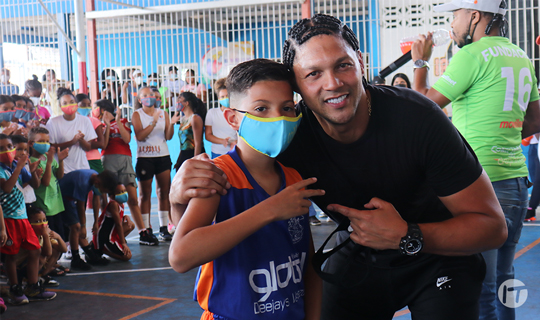 Movilnet y Fundación Derek Manaure realizaron clínica deportiva en Yare