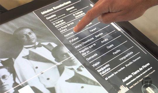 Tecnología y multimedia en el Museo Nacional en Quito