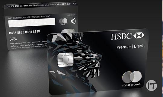 IDEMIA entrega nueva tarjeta de crédito HSBC Black en metal