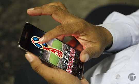 Las conexiones en dispositivos móviles superarán las de los televisores en el Mundial Rusia 2018
