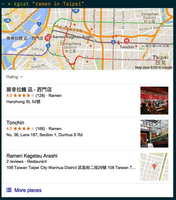 Maps example