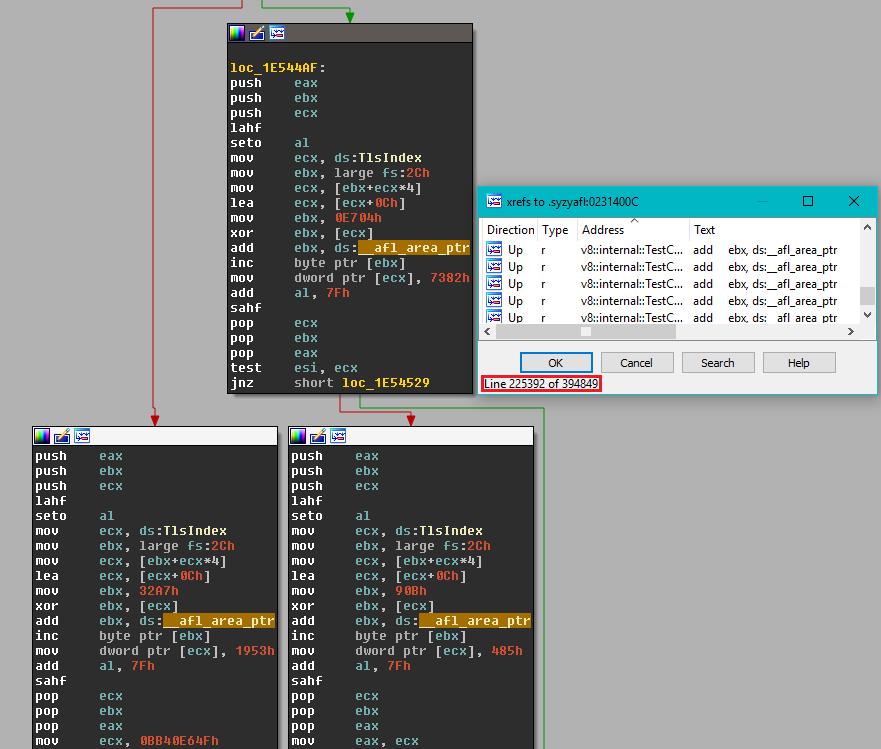 afl instrumentation under IDA