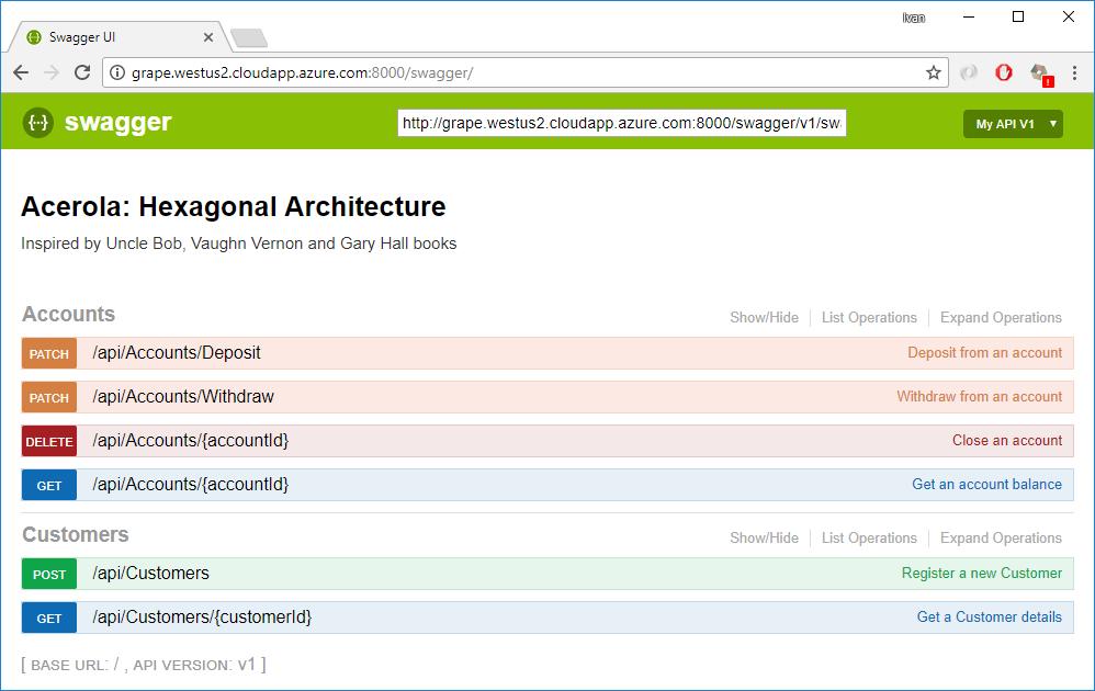 Acerola Live Demo on Azure