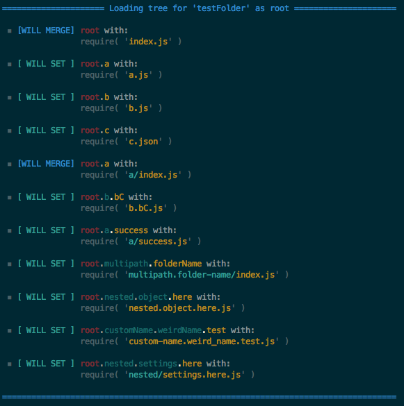 view command