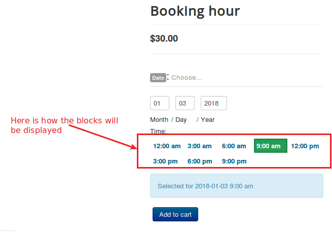 booking hour