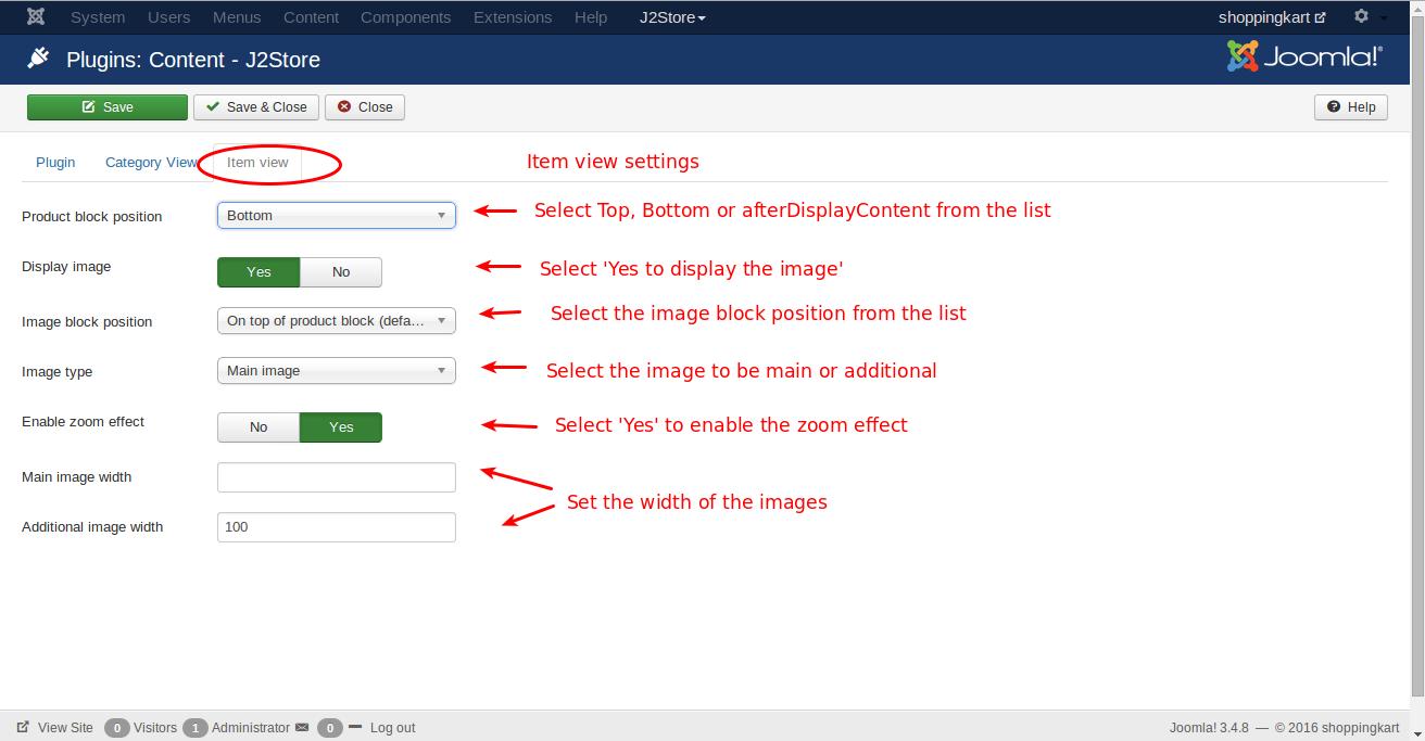 Setup-contentplugin-itemview