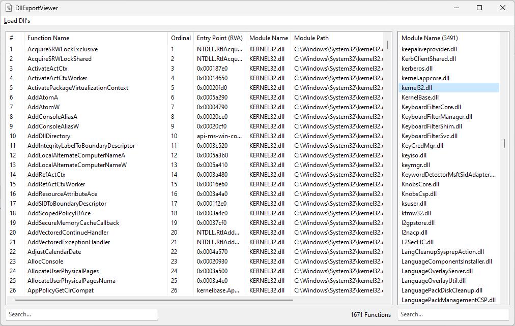 DLL Export Viewer - AutoHotkey Community