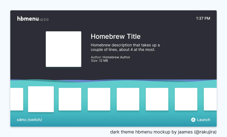 GitHub - jaames/nx-hbmenu-mockup: design mockups and assets