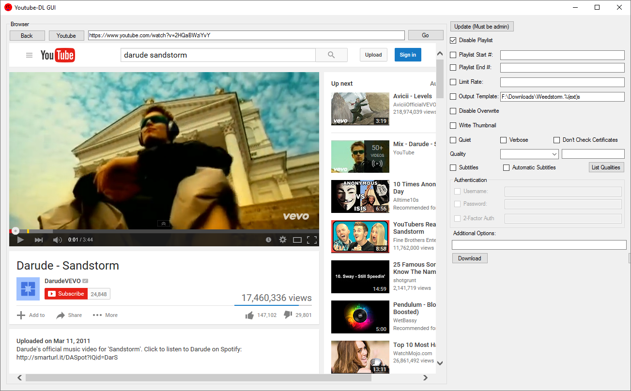 Youtube Dl Web