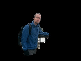 Simple Image saliency detection from histogram backprojection