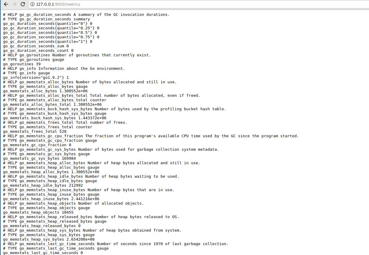 node_exporter