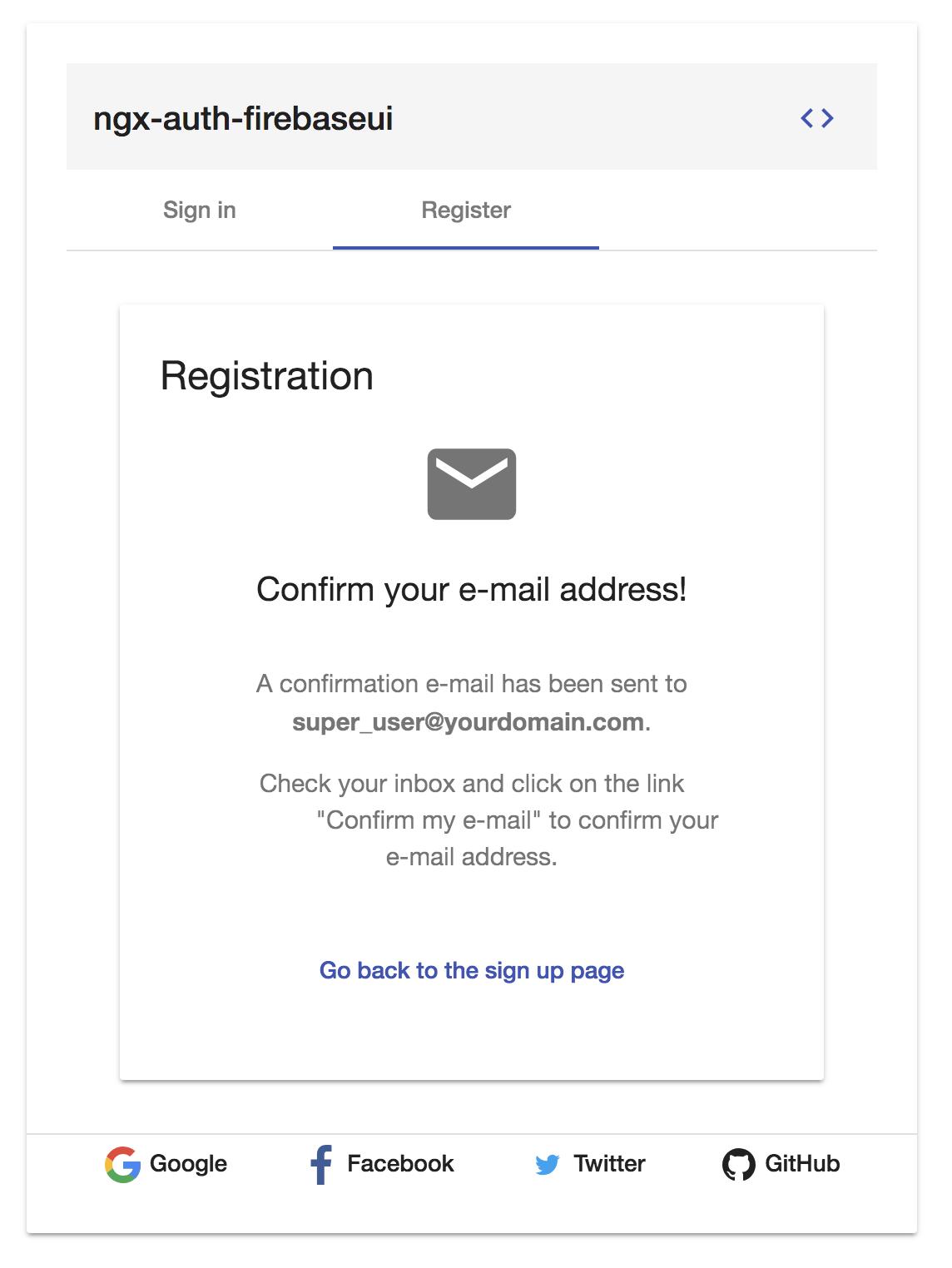 ngx-auth-firebaseui sign up