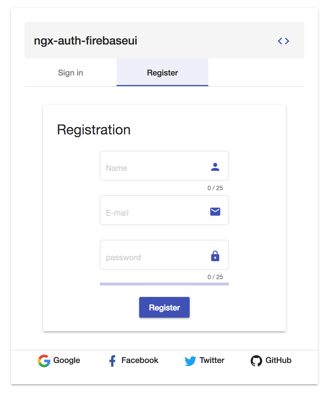 disable guests option with ngx-auth-firebaseui