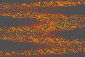 An image of a particle vector field