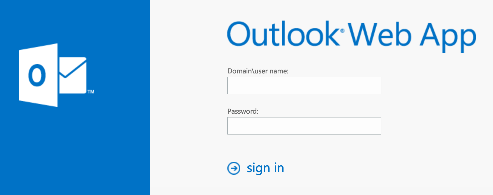 Example: OWA for Exchange 2013/2016