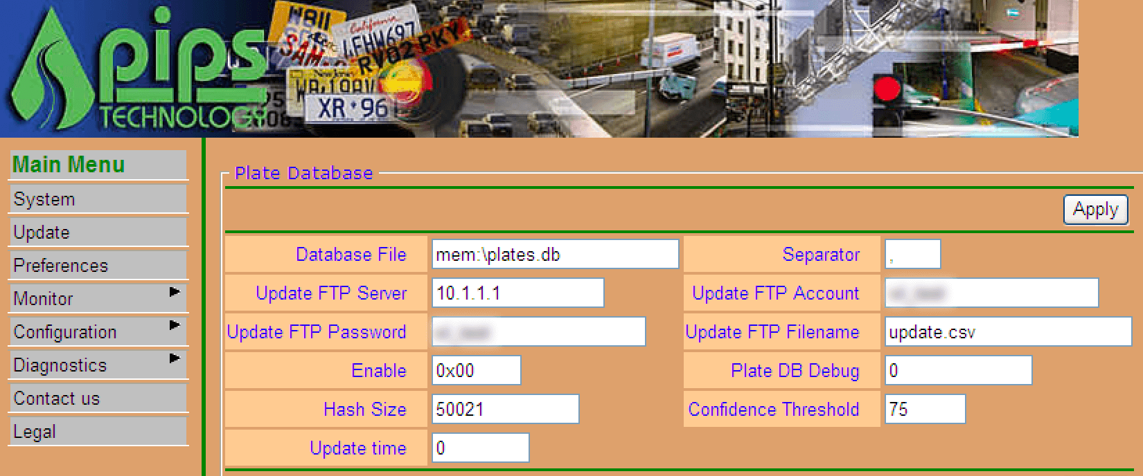 Example: Automatic License Plate Reader
