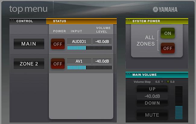 Example: Yamaha Stereos