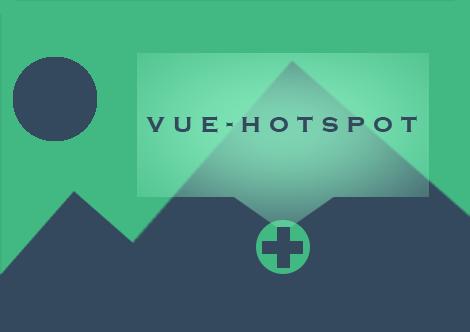 Hotspot component for Vue.js – vue-hotspot