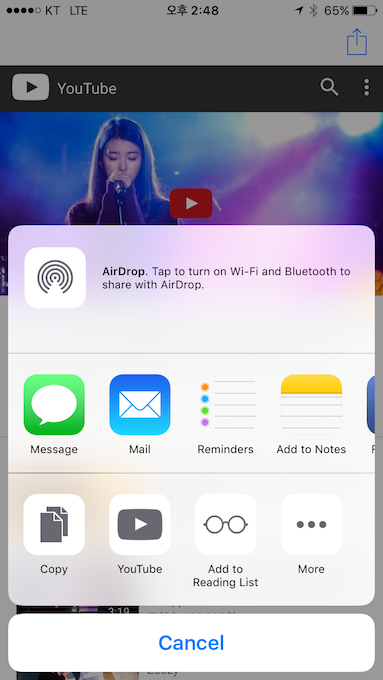 JLYouTubeActivity screenshot