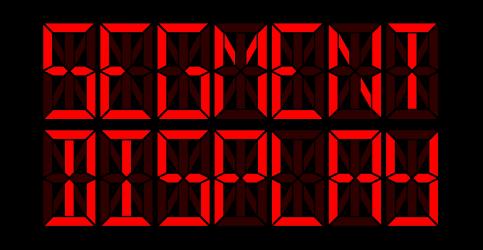 Segment display