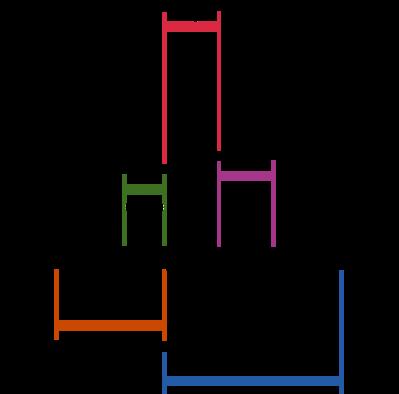 正常心電図の概略図