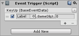 Event Trigger