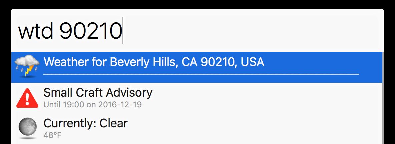ZIP query