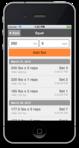 One Rep Max Screenshot #5 - Logging a Set