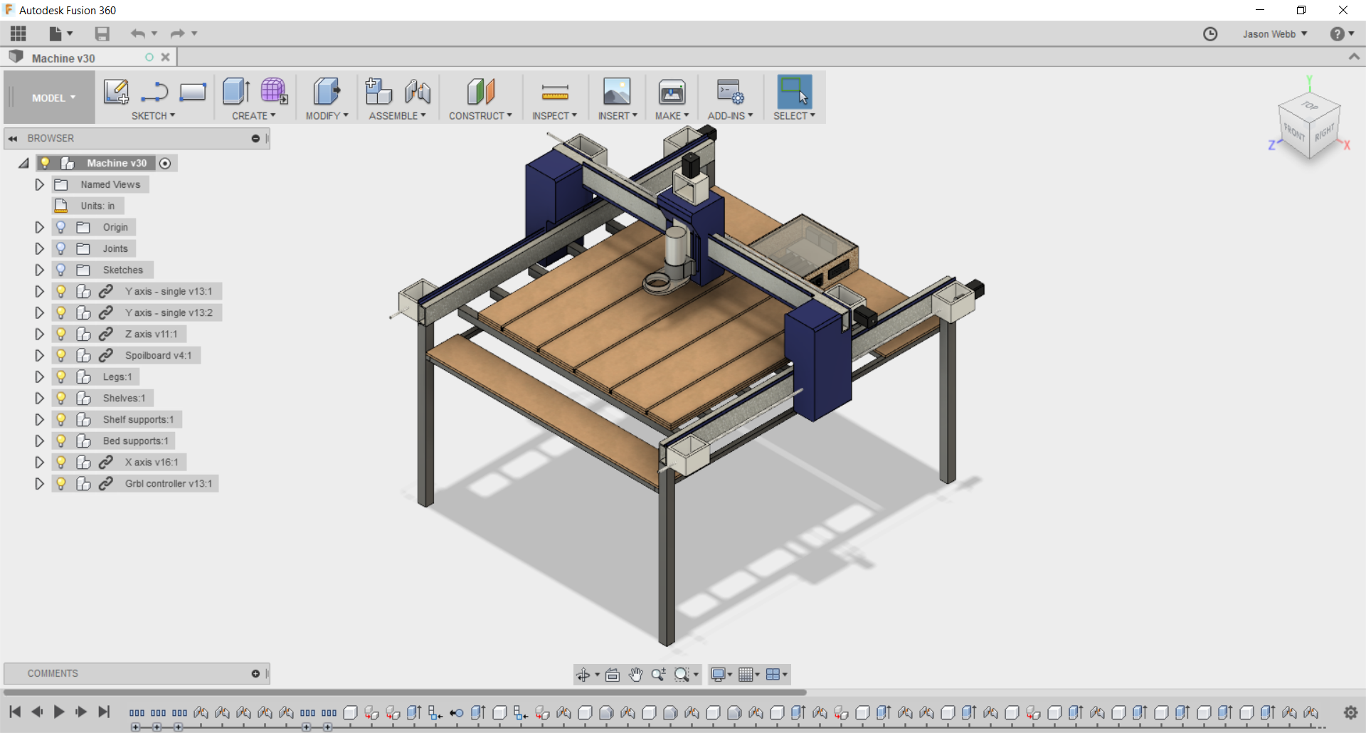 CAD and CAM workflow notes · jasonwebb/tc-maker-4x4-router Wiki · GitHub