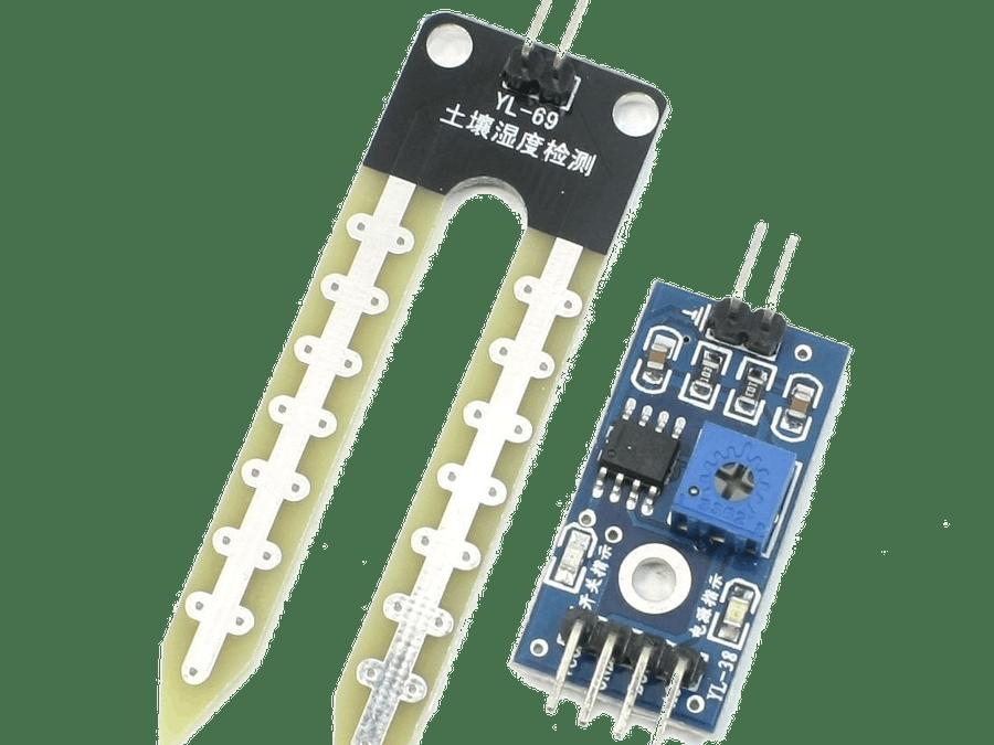 sensor de humedad de suelo