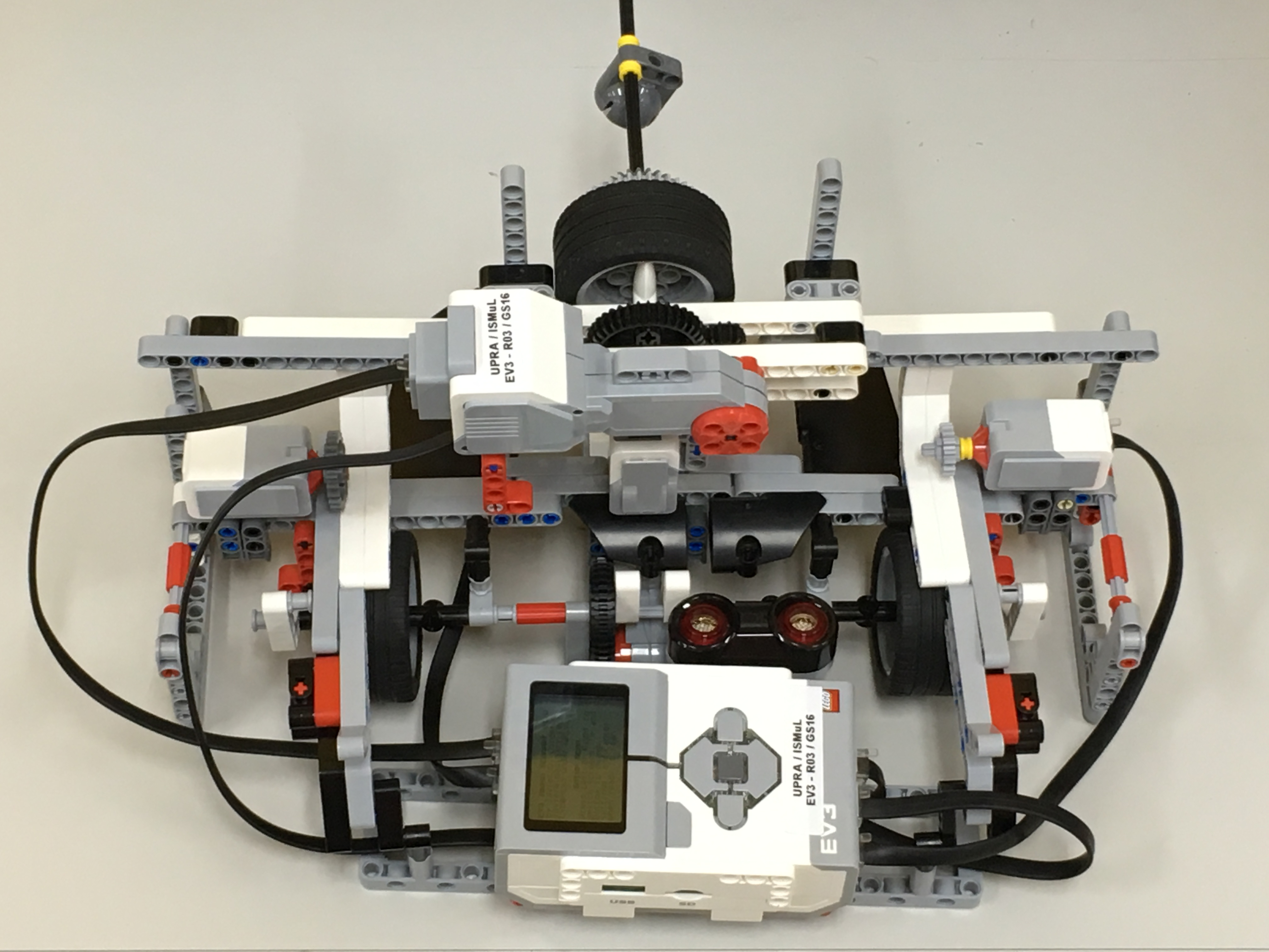Image Scanner Made from Lego Mindstorms EV3  Includes Source