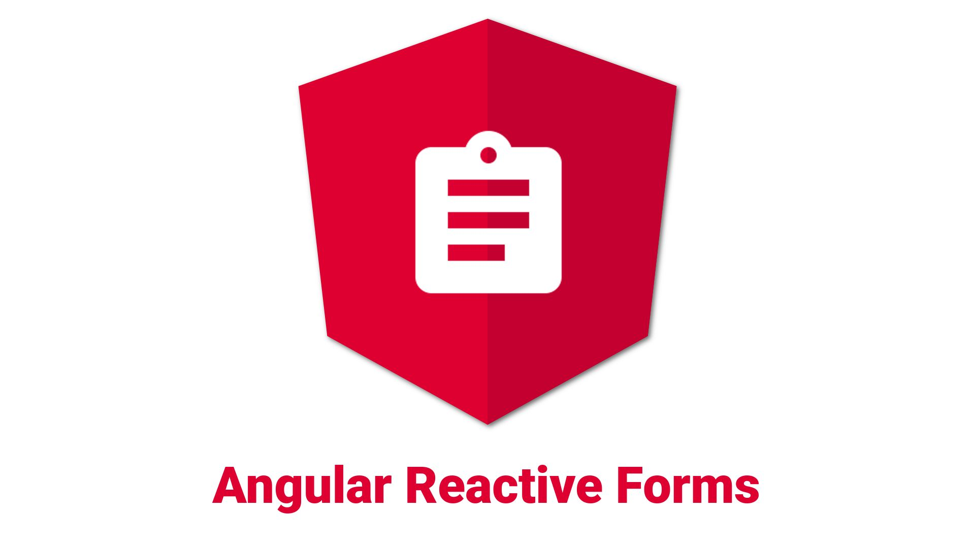 JSON to Angular Reactive Form