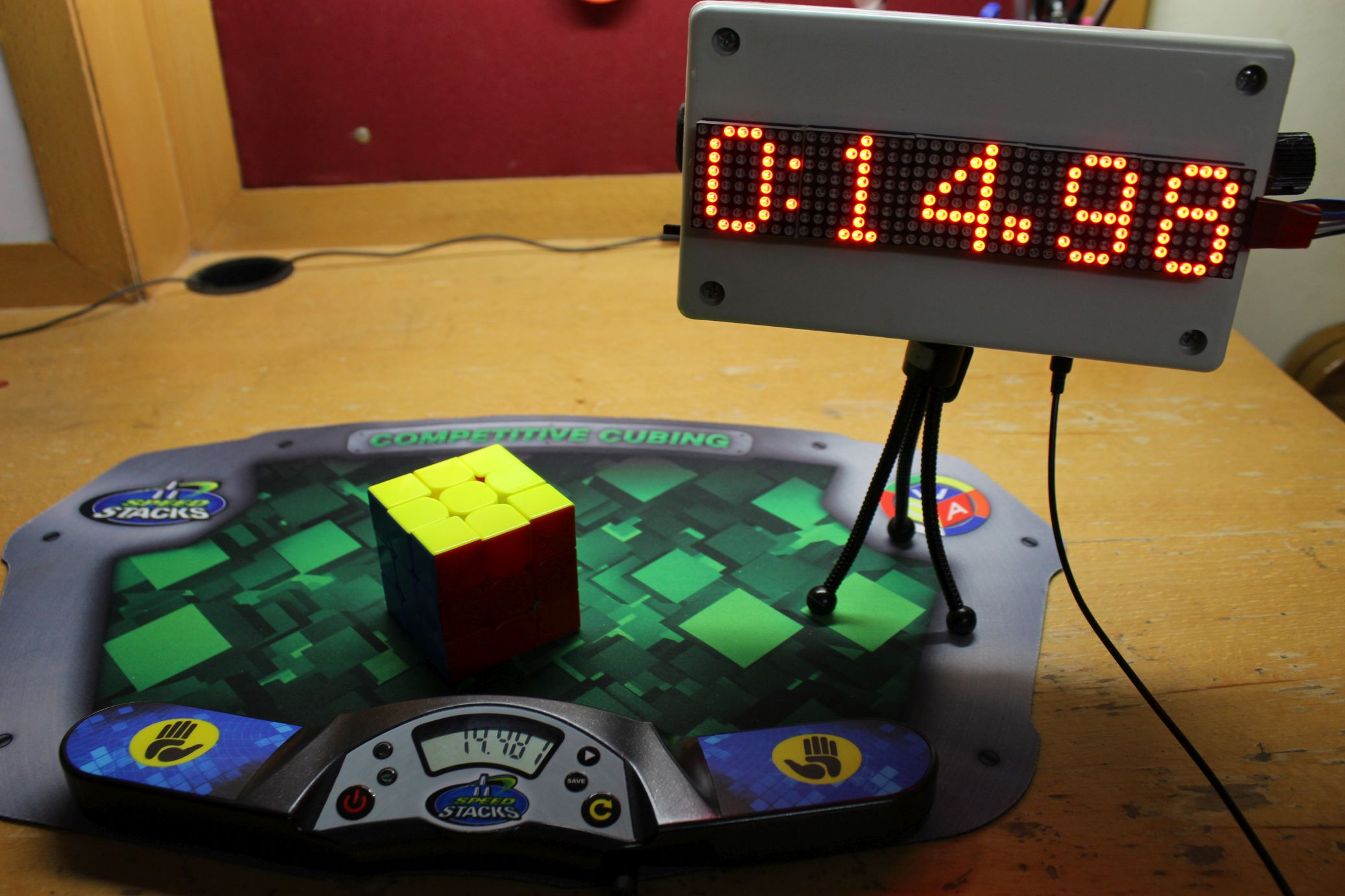 Ledmat Documentation Timer Based Projects Electronics Proojects Introduction The Goal Of This Project