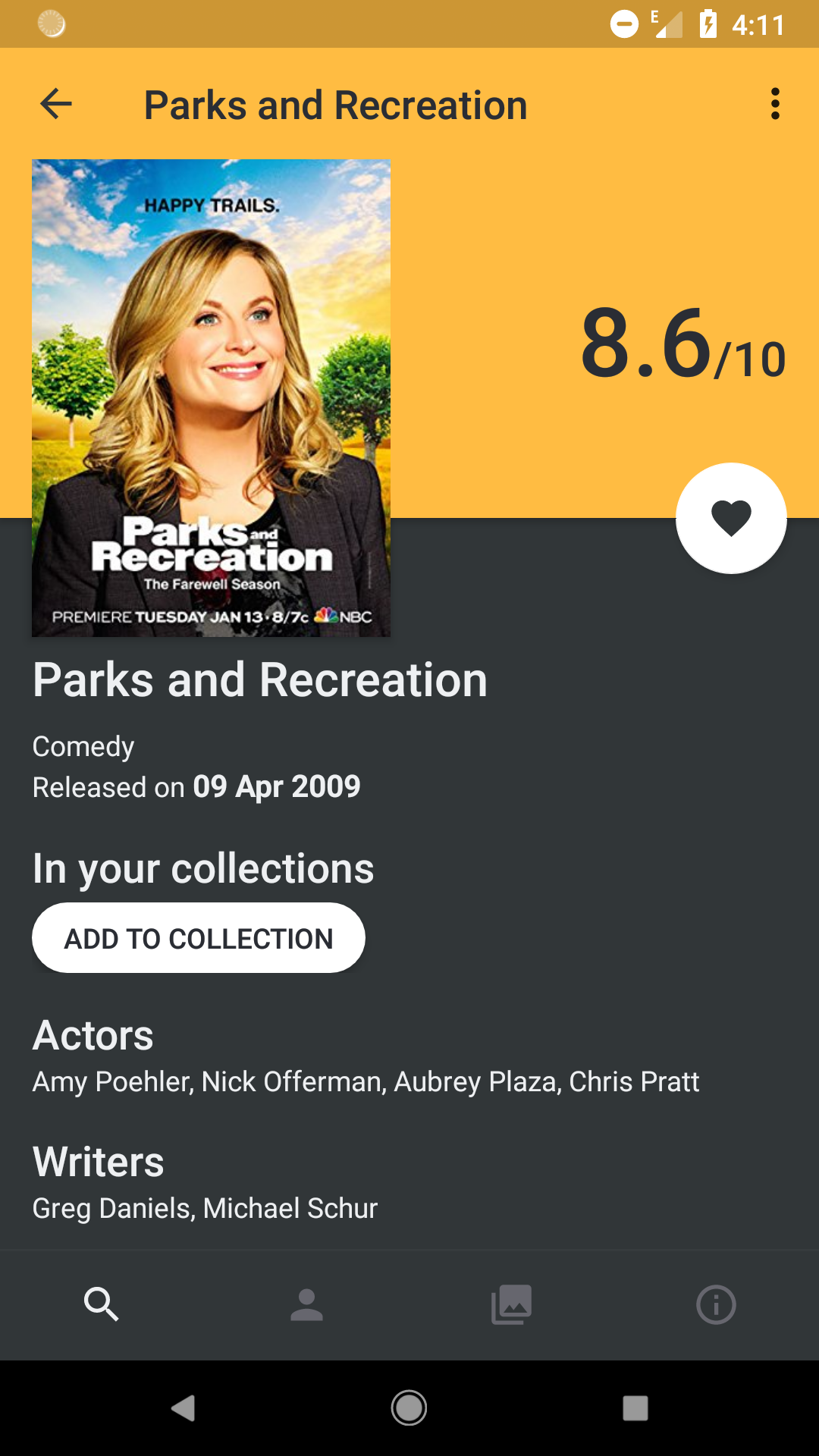 Flutter Movie Ratings