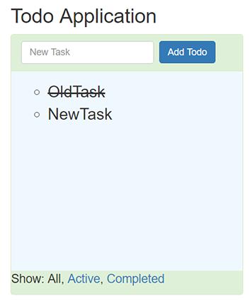 Creating Todo application from Molinio templates - JayStack