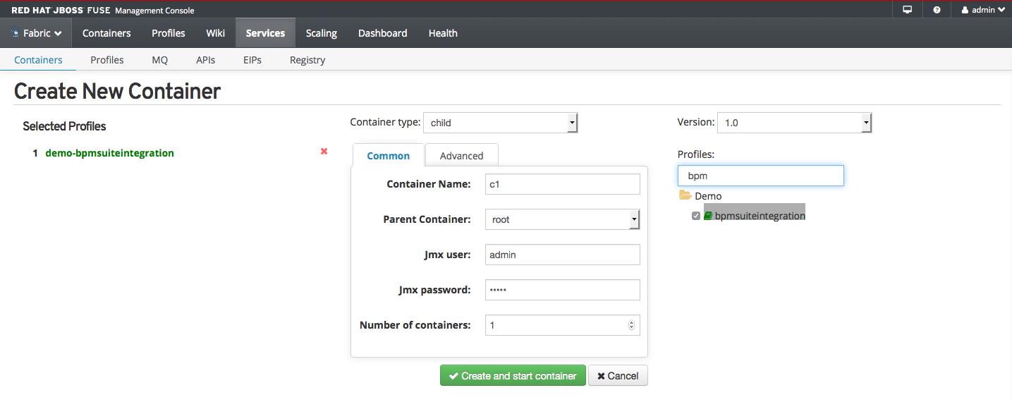 JBoss BPM Suite and JBoss Fuse Integration Demo | Red Hat Developer