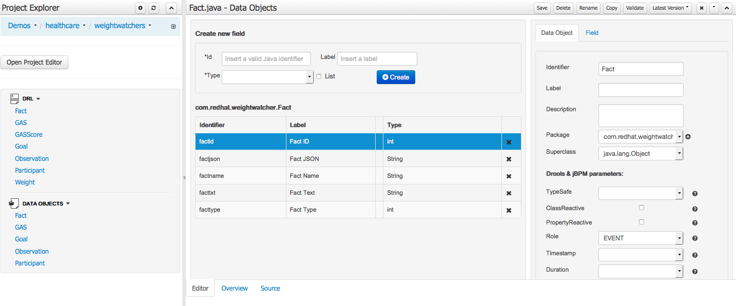 JBoss BRMS Weightwatcher Realtime Decision Server Demo | Red Hat