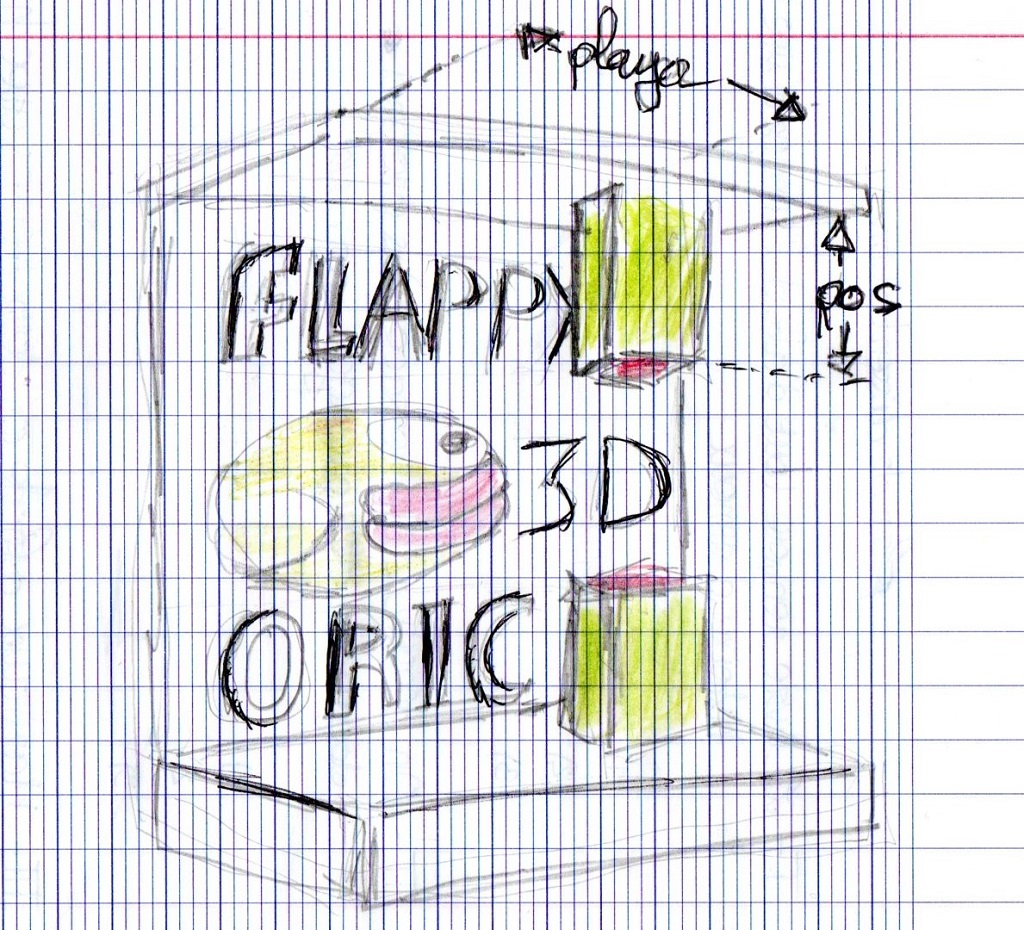 Flappy Oric 3D Flappy