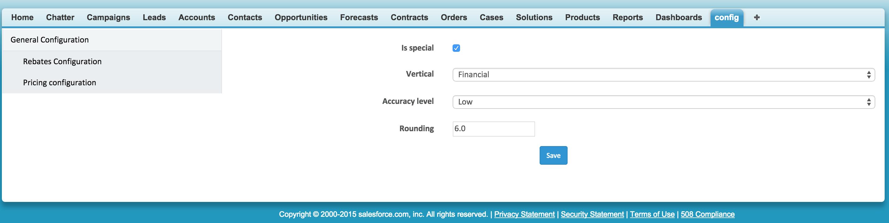 MConfiguration App Demo Screenshot