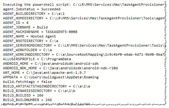 VSTS-Tools List Variables Image