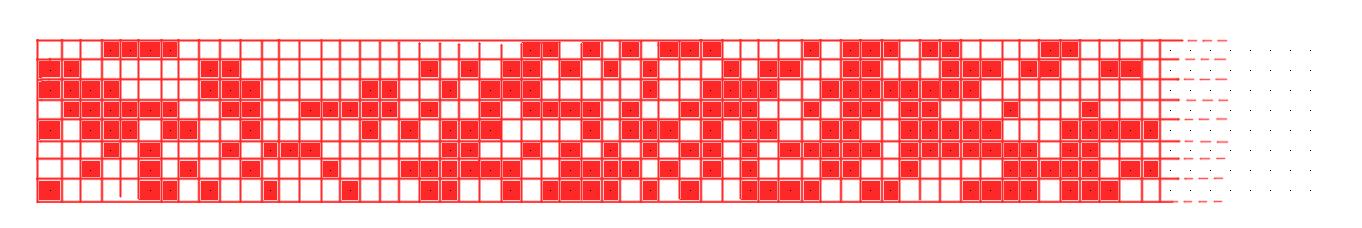 The Overlayed Dot Matrix