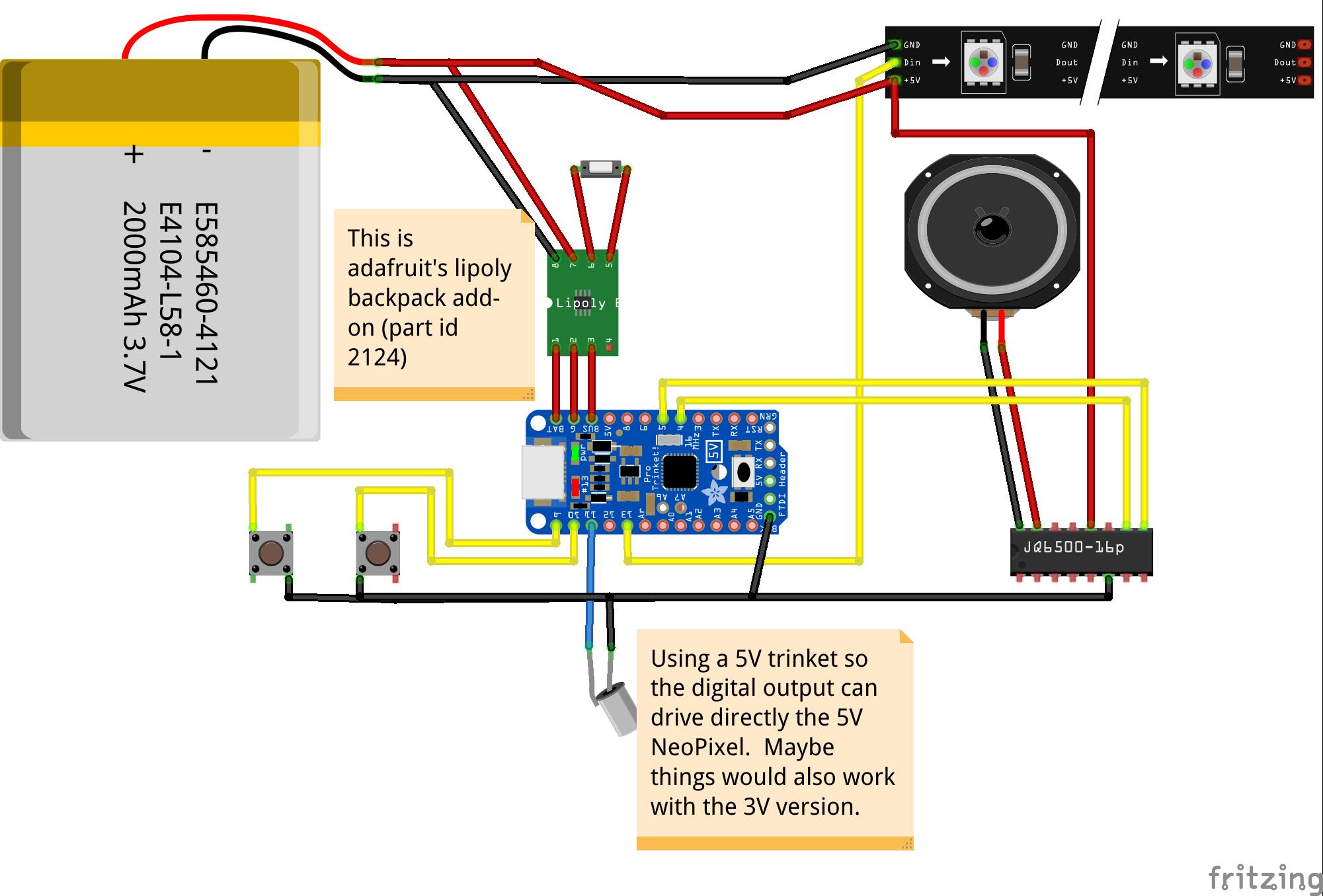 Github jcard na lightsaber arduino