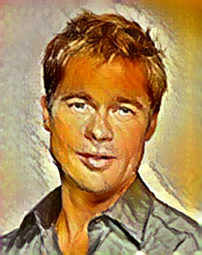 OpenCL NIN Model Picasso Brad Pitt