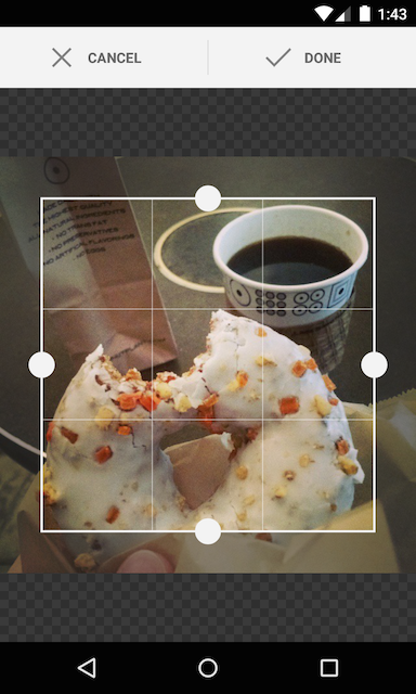 android-crop screenshot